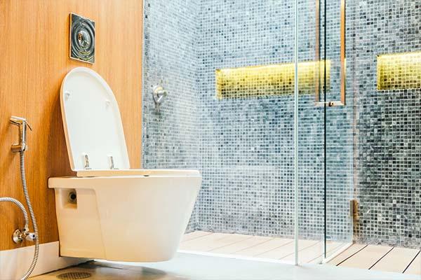 Riparazione scarico WC otturato Villa Guardia